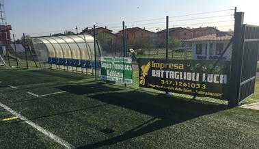 Panchina Campo da calcio battaglioli luca